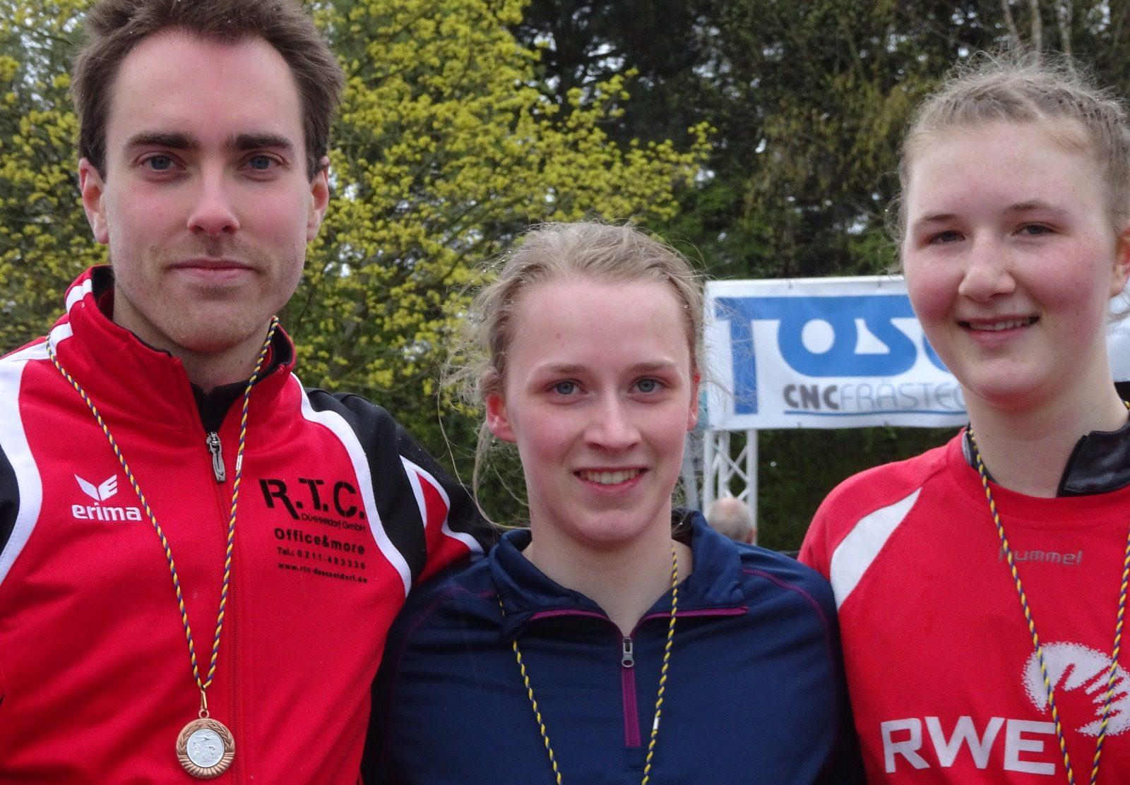 Erfolgreicher Start der Triathleten ins neue Jahr