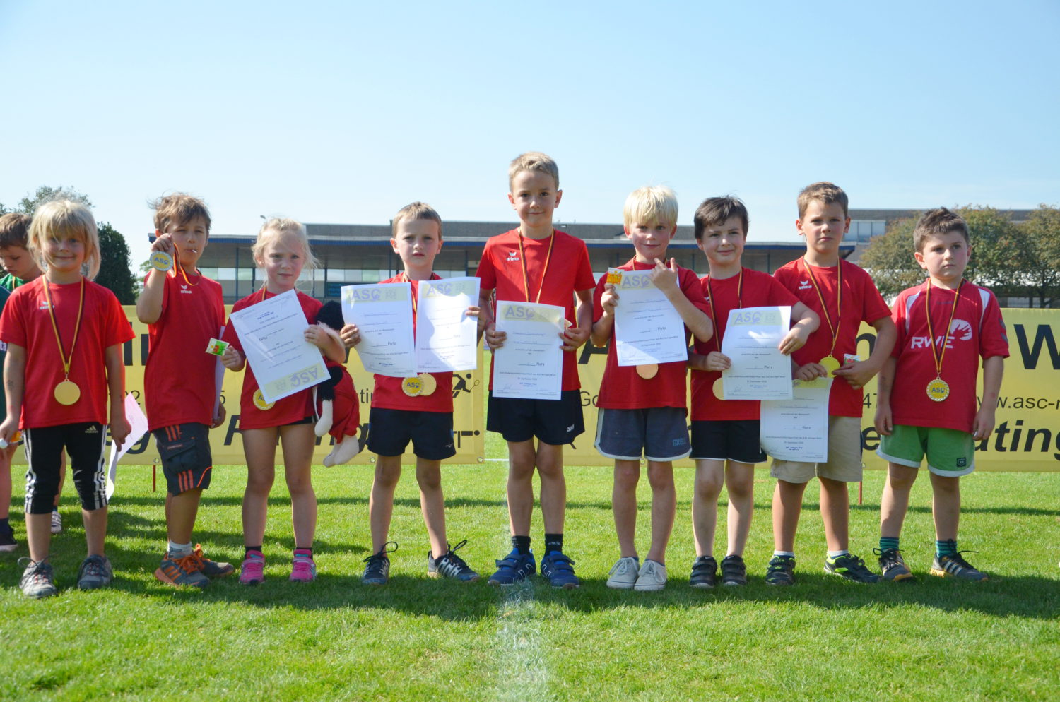 Kinderleichtathletik-Sportfest in Ratingen