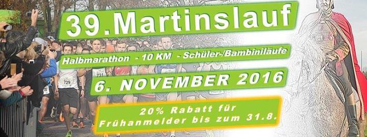 Martinslauf am Unterbacher See